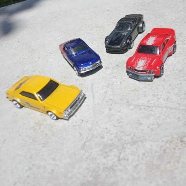 Mobil Hot Wheels Langka Fast And Furious Rewind Set E (Loosed 4 Mobil)