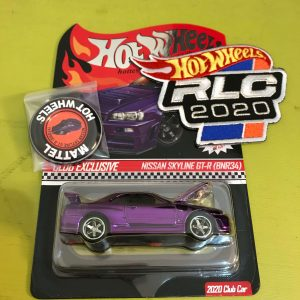 Hot Wheels Langka RLC Nissan Skyline Ungu